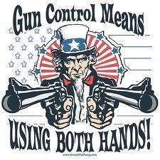 gun control in a nut shell