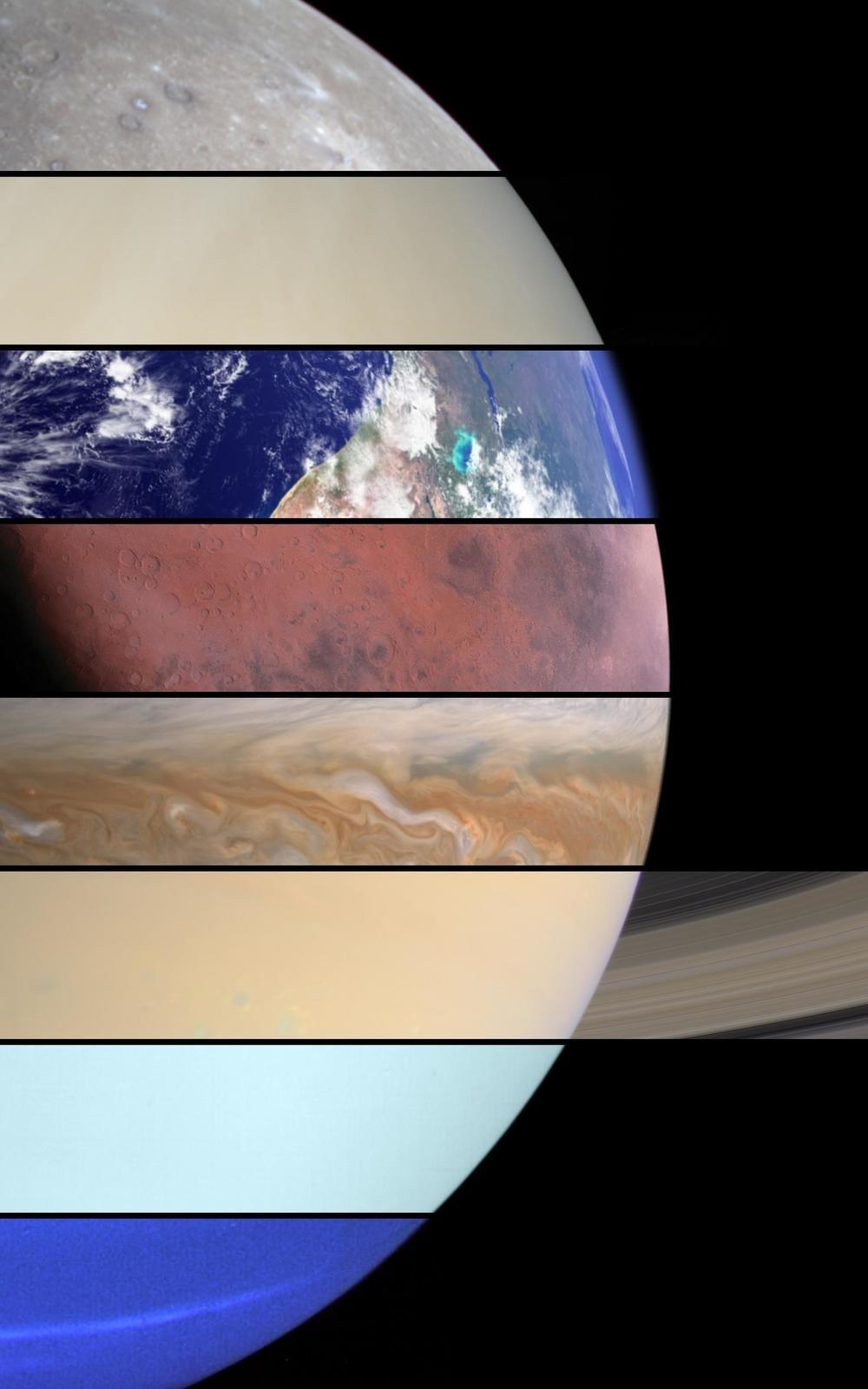 three planets aligned - HD1000×1600