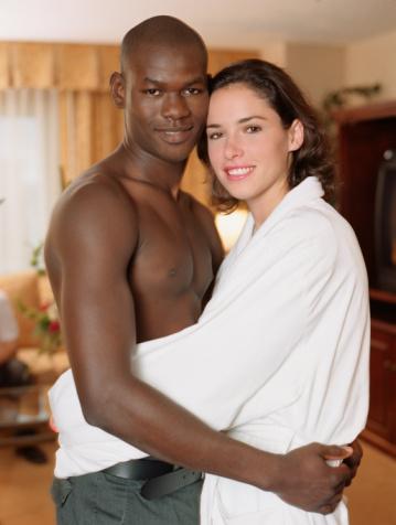 белые девчонки и здоровые черные парни - 5