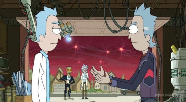 Kiss Cartoon Rick And Morty