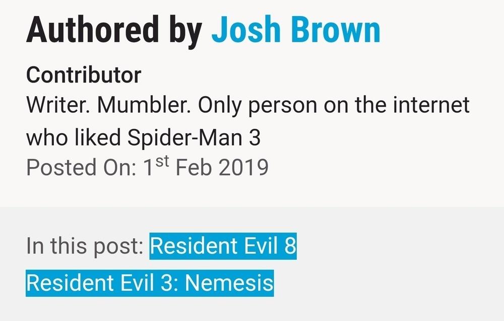 RESIDENT EVIL 3 REMAKE before Resident Evil 8