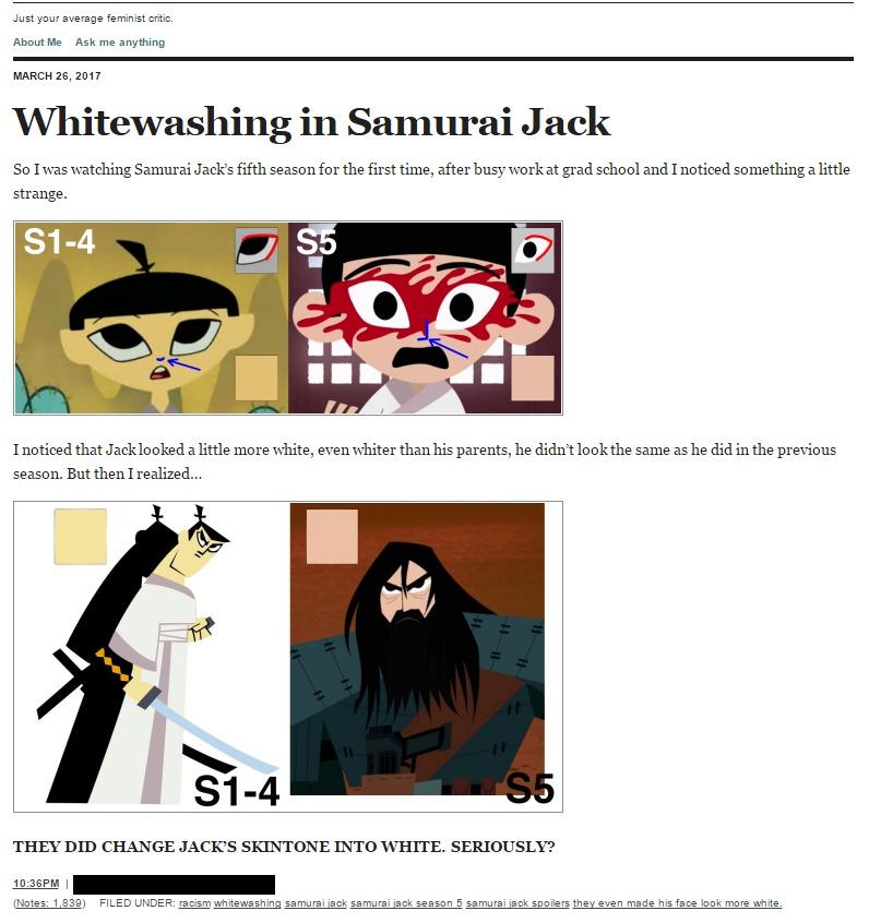 Concept Art Samurai Jack S5