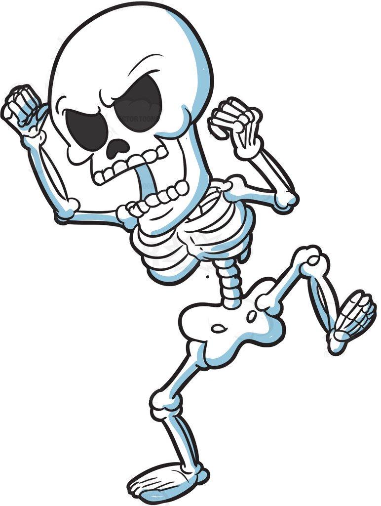 Картинка смешные скелетики