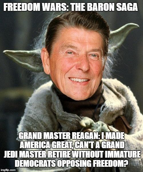 We Are Doing This Ronald Reagan As Yoda Jeb Bush 155282387