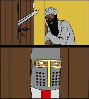 to keep musliim invaders out